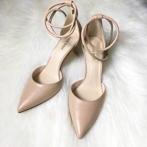 Nine west wrap ankle heels